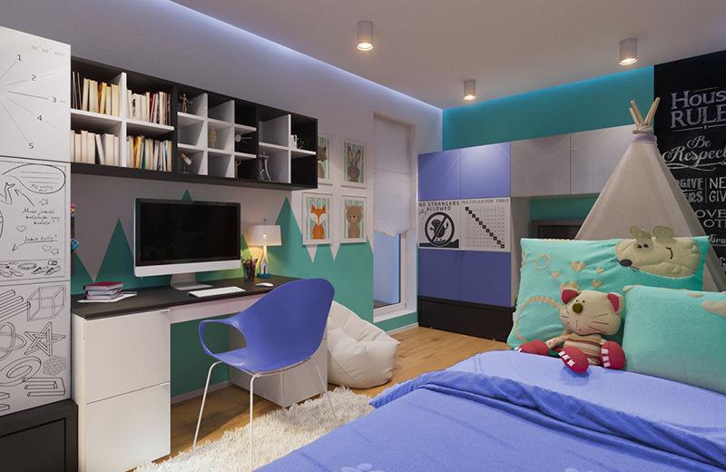 Camerette per bambini moderne